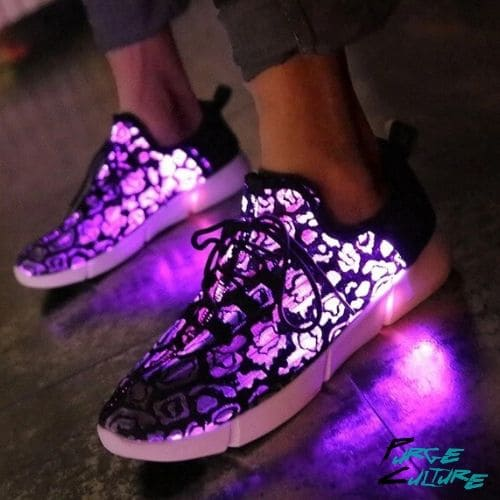led soled shoes