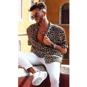 Leopard Casual Shirt