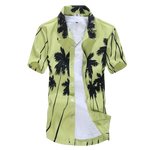 Mens Casual Printed Shirt- Short Sleeves