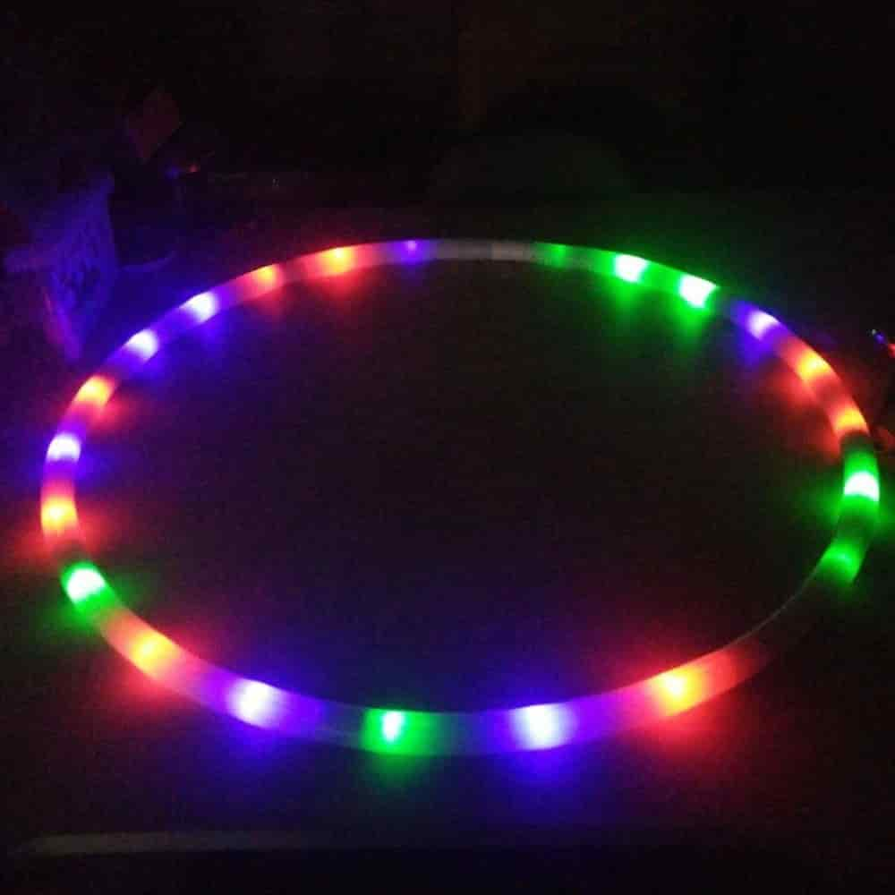 led fitness hoop