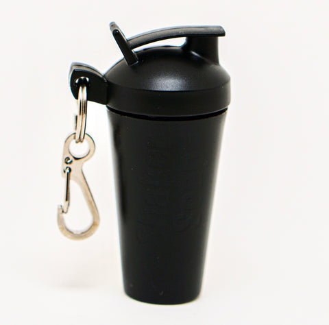 SHAKER SOAP KEY CHAIN - BLACK