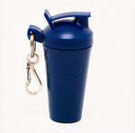 SHAKER SOAP KEY CHAIN - NAVY BLUE