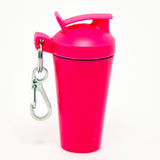 SHAKER SOAP KEY CHAIN - HOT PINK