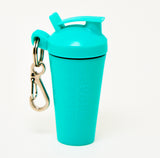 SHAKER SOAP KEY CHAIN - TURQUOISE