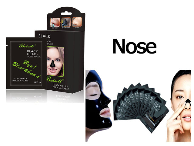 Beisiti Blackhead Pore Mask Nose 10pk