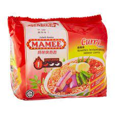 Mamee Noodle Curry 75g x 5pk