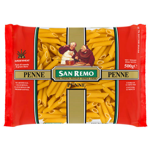 San Remo Pasta Penne 500g