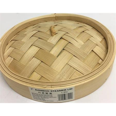 Bamboo Steamer Lid 9inch 1ea