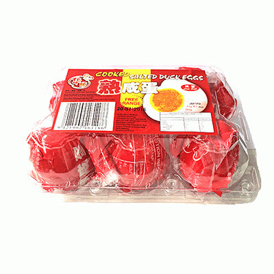 Huashun Cooked Salted Duck Egg 6pk