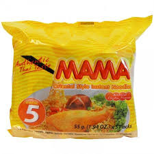 Mama Chicken Noodles 55g x 5pk