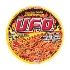 Nissin UFO Spicy Beef 116g