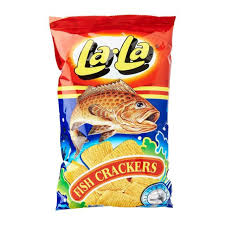Lala Fish Cracker 100g