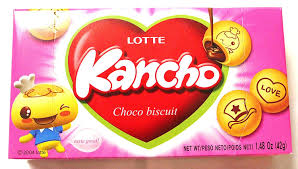 Lotte Kancho Choco Snack 42g