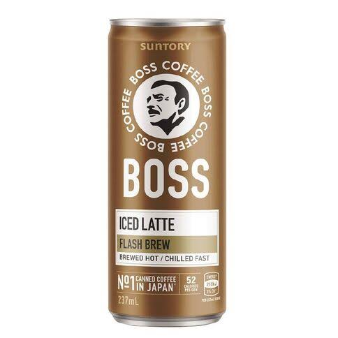 Boss Coffee Iced Latte 237ml