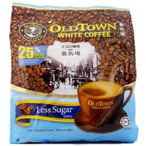 Old Town White Coffee 25% Less Sugar 525g