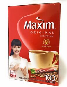 Dongsuh Maxim Coffee Mix Original 100pk
