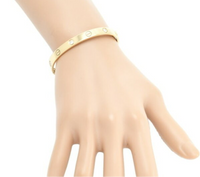 Cartier 6P Diamond Love Bracelet 18KT Yellow Gold Size 16