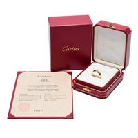 Cartier Love Ring 18KT Yellow Gold #56/ US 7