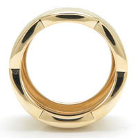 CHANEL Matelasse CoCo Crush Quilted 18KT Yellow Gold Ring 7.5
