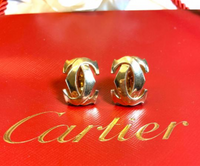 Cartier Penelope Double C De Cartier 18KT Yellow Gold Earrings
