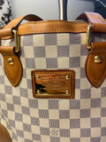 Louis Vuitton Hampstead Azur Handbag Tote