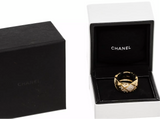 CHANEL CoCo Crush Diamond 18KT Yellow Gold Ring Size 54/ US 7