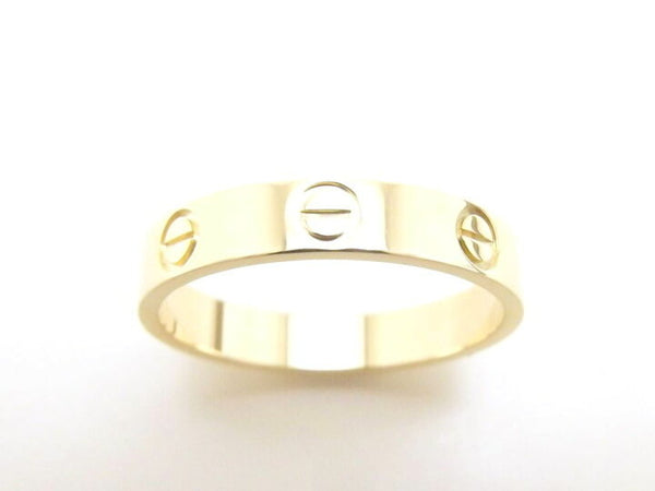 Cartier Wedding (Mini) Love Ring 18KT Yellow Gold Size 54/ 6.5