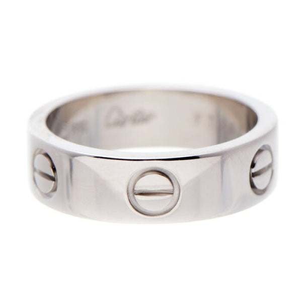 Cartier Love Ring 18KT White Gold #54/ US 6.5