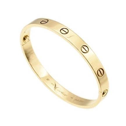 Cartier Love Bracelet 18KT Yellow Gold #17 Screw Motif