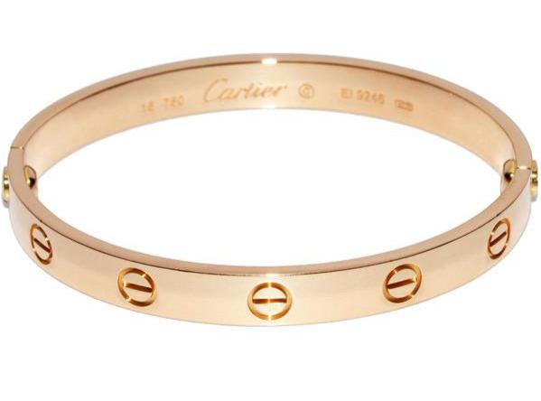 Cartier 18KT Rose Gold Love Bracelet Size 16