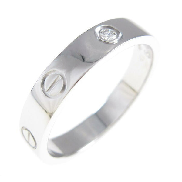 Cartier Wedding/ Mini 18KT White Gold Love Ring Size 51/ US 5