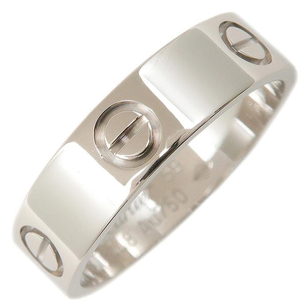 Cartier Love Ring 18KT White Gold Size #59/ US 9
