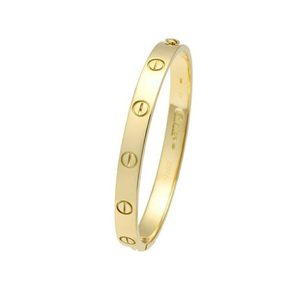 Cartier 18KT Yellow Gold Love Bracelet Size #16