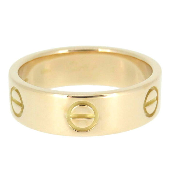 Cartier Love Ring 18KT Yellow Gold Size 57/ US 8