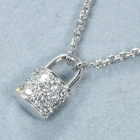 Louis Vuitton Diamond Paved 18KT Gold Necklace