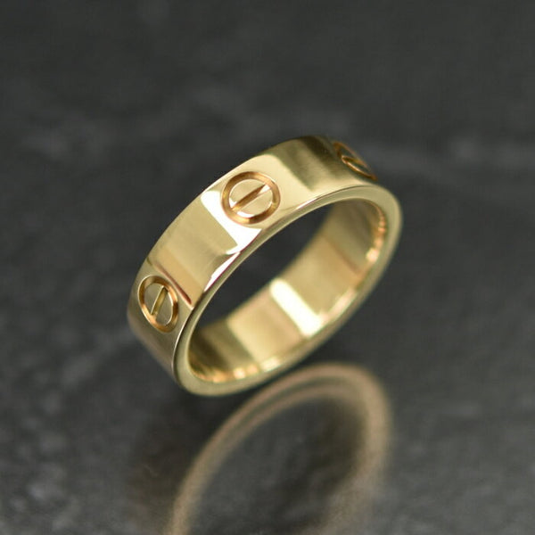 Cartier Rose Gold Love Ring #53 US 6