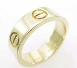 Cartier 18KT Yellow Gold Love Ring Size #50/ US 5