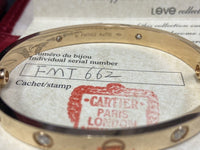 Cartier Love Bracelet Diamond 18KT Pink Gold #16