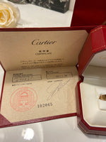 Cartier Full Size 18KT Yellow Gold Love Ring Size 52/ US 6