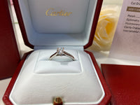 Cartier .40ct Diamond PT950 Wedding/ Engagement Ring