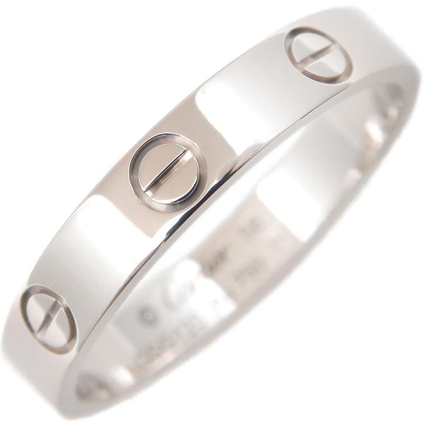 Cartier Mini Wedding Love Ring 18KT White Gold #58/ US 8