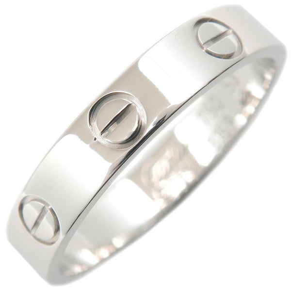 Cartier Mini Wedding Love Ring 18KT White Gold #53/ US 6 1/4