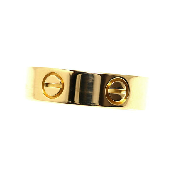 Cartier 18KT Yellow Gold Love Ring Size 55/ US 7