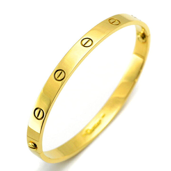 Cartier 18KT Yellow Gold Love Bracelet Size 19