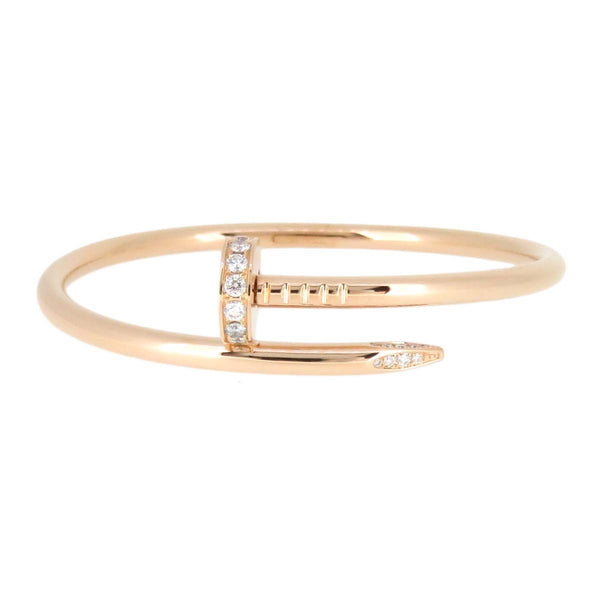 Cartier Juste Un Clou Diamond 18KT Rose Gold Bracelet #16