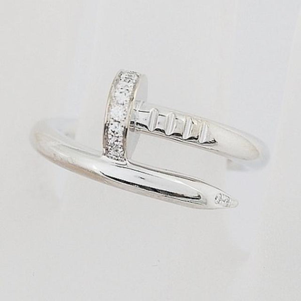 Cartier Juste Un Clou Diamond Ring Size 51 / US 5