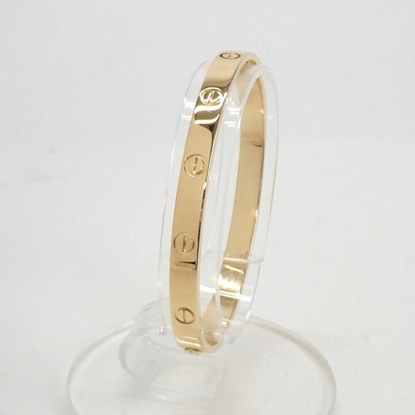 Cartier 18KT Yellow Gold Love Bracelet Size #19
