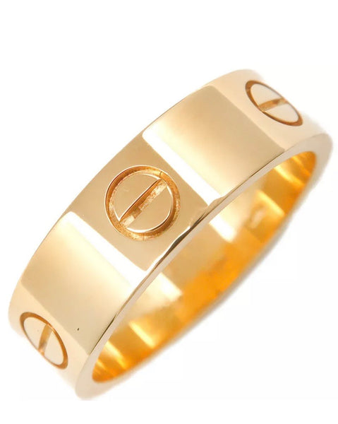 Reserved Cartier 18KT Yellow Gold Full Love Ring #60 / US 9
