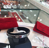 Cartier 18KT White Gold Love Bracelet Bangle #17