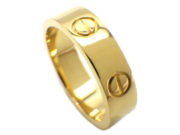 Cartier 18KT Yellow Gold Love Ring Size #56/ 7